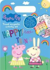Peppa Pig Magnetic Travel Activity Set Kids Fun Postcards Crayons Games PEMAS1