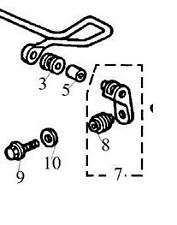 MG Rover 45 ZS MGZS Rear Anti Roll Bar Drop Link Replacement Rubber Bush Kit 400