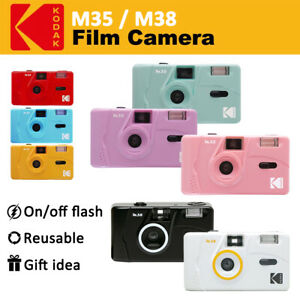 Kodak Vintage Retro M35 / M38 35mm Reusable Film Camera with Flash *Gift Idea*
