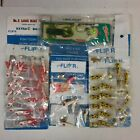 Mixed Lot of Lures:Vintage Blakemore Road Runner, Beaver Spinners 28pcs.....1Fc