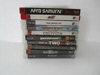 Lot of 10 Sony PS3 Games Street Fighter 4 Bioshock Infinite Final Fantasy XIII