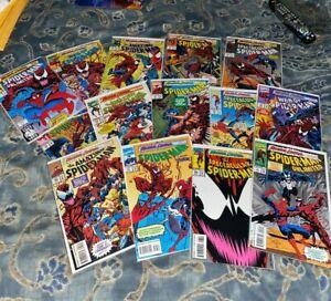 Spider-Man Maximum Carnage #1 - 14 Complete Set Full Run 1993 Marvel high grade