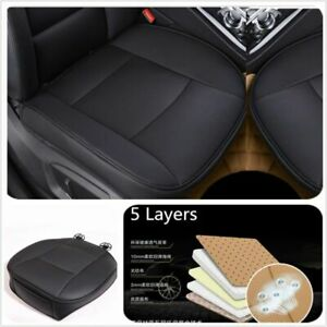 Universal PU leather Luxury Car Single Front Seat Cover Protector Pad (AU Stock)