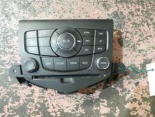 HOLDEN CRUZE RADIO/CD/DVD/SAT/TV FACTORY RADIO FACE ONLY (NO CD PLAYER), JG, 05/