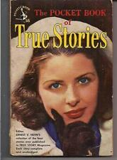 THE POCKET BOOK OF TRUE STORIES ~ POCKET 545 1948 1ST ed ERNEST HEYN STORY