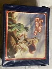 Vintage 1980?s Fantasy Figure Collector's Case WITH TRAYS! MOTU He-Man 6?