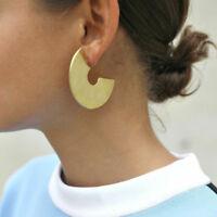 1 Pair Personality Geometric Irregular C-shaped Alloy Stud Earrings Jewelry