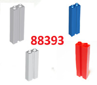 A17  LEGO 2 Stud Tower Brick & Groove Part 88393 - sets of 5 Choose Your Colours