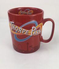 THORPE PARK Large Giant RED LOGO 3D MUG Cup UK Theme Park