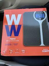 NEW Conair Weight Watchers Digital Precision BMI Carbon Fiber Scale Sealed Box
