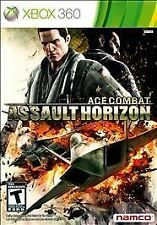 ACE COMBAT - ASSAULT HORIZON 2011 XBOX 360 Game Fighter Pilots COMPLETE Vg