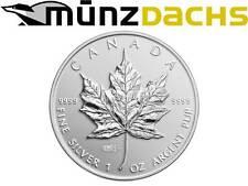 $ 5 Maple Leaf WMF World Money Fair Berlin Privy Mark 1 oz silver Canada 2014
