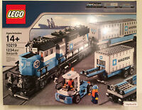 Lego City Trains 10219 Maersk Train New In Factory Sealed Box