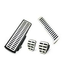 Stainless Steel Car Pedals for LHD VW Passat B6 B7L CC Manual/MT pedal