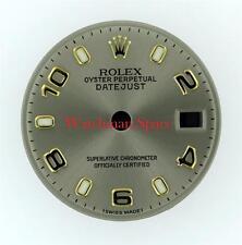 Factory Lady Rolex Datejust 79173 Slate/Grey Arabic, Stick Dial 2Tone #C16