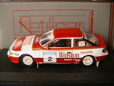 TOYOTA CELICA GT4 #2 WINSTON RALLY SATURNUS YOUGOSLAVIE 1989 SULAYEM MORGAN TROF