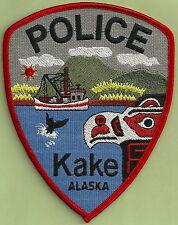 KAKE ALASKA POLICE SHOULDER PATCH