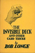 The Invisible Deck and other Card Tricks by Longe Pb 1948 W4
