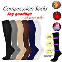 1 Pair Compression Socks Stockings Varicose Veins Leg Relief Pain Socks (S-XXL)