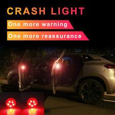 2pcs Universal Car Door LED Opening Warning Lamp Safely Flash Signal Light
