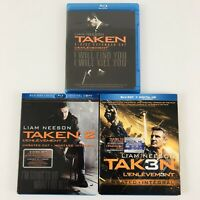 Taken: 1 2 and 3 on Blu-ray - Trilogy Set - Collection Lot