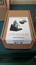 New! Plantronics CS530 Bluetooth Ear-Hook Headset with HL10 Lifter