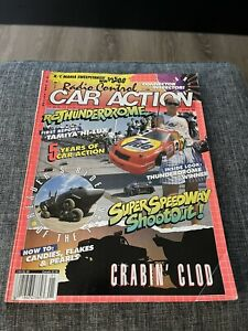 Vintage Radio Control Car Action Magazine RCCA January 1991 Clean Complete
