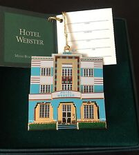 Hotel Webster Miami Florida Or029 Shelia's 3D Historical Ornament