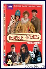HORRIBLE HISTORIES - SERIES 3 - COMPLETE SERIES 3 *BRAND NEW DVD