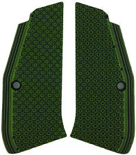 CZ97 Thin Grips - Bogies Zombie Green Black