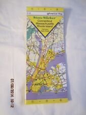 CT/MASSACHUSETTS/RI State by Arrow Map Inc. Staff (2004, Other)