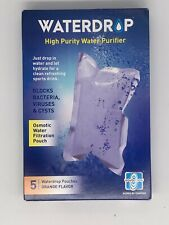 Waterdrop High Purity Water Purifier (NEW) 5 Pouches (Orange)