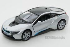 BMW I8 in Blue Kinsmart Kt5379 1 36 Scale 5 Inch Model Toy Car Gift