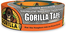 Gorilla Silver Duct Tape 188 X 35 Yd Silver Pack Of 1