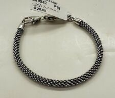 Brighton Charmed Bracelet Silver D29542 NWT New With Tag