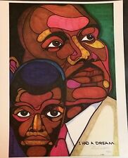 "Martin Luther King ""I Had A Dream"" Ferdie Pacheco Signed Limited Edition"