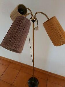 Stehlampe 50er 60er Jahre Tütenlampe seltene Stehlampe Tütenleuchte  Vintage