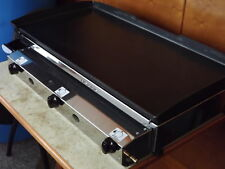 Commercial Catering Van LPG Gas Griddle Hot Plate Plancha Barbecue 80x40cm