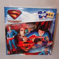 New Superman Returns 100 Piece Jigsaw Puzzle 5-8 Years J5264 Mattel 2005