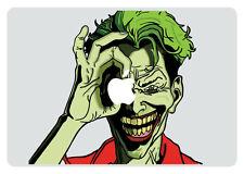 Joker Looking Through Apple MacBook Pro / Air 11 Inch Vinyl Decal Sticker