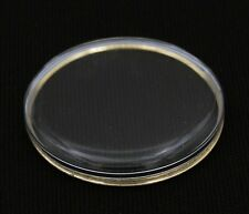 Replacement 31.6mm Acrylic Watch Crystal Gold Tension Ring For Omega