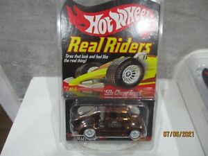 HOTWHEELS 2007 RLC COLLECTORS.COM REAL RIDERS 50S CHEVY TRUCK  RUBBER TYRES