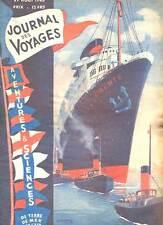 REVUE JOURNAL DES VOYAGES N°27. 1946.