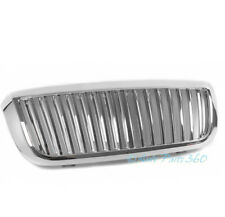 04-07 FORD RANGER PICKUP VERTICAL FRONT UPPER HOOD MESH GRILLE INSERT ABS CHROME