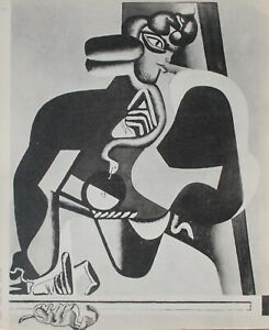 The Corbusier: Egypt, Cleopatra And The Snake - Engraving Signed - 1938