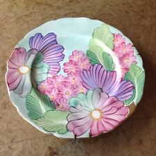 GRAYS POTTERY ART DECO HAND PAINTED DISPLAY PLATE POST SUSIE COOPER