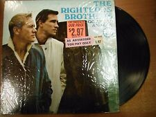 33 RPM Vinyl The Righteous Brothers Go Ahead And Cry Verve Record V5004 040715SM