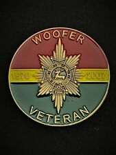 Worcestershire & Sherwood Foresters Regiment Colours Lapel Pin (WFR)