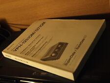 very rare Sony VPH 1251 1271 CRT projector Original Dealers Installation manualv