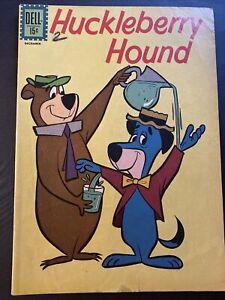 Huckleberry Hound #14 Yogi Bear Dell Comics 1961 December 15 cents